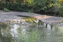 Nedostatek vody v Lužnici komplikuje milovníkům vodáctví život.