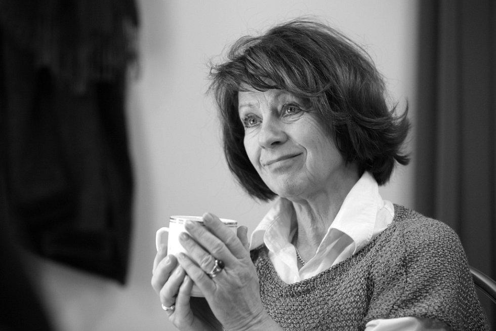 Herečka Bibiana Šimonová na snímku z prosince 2012.