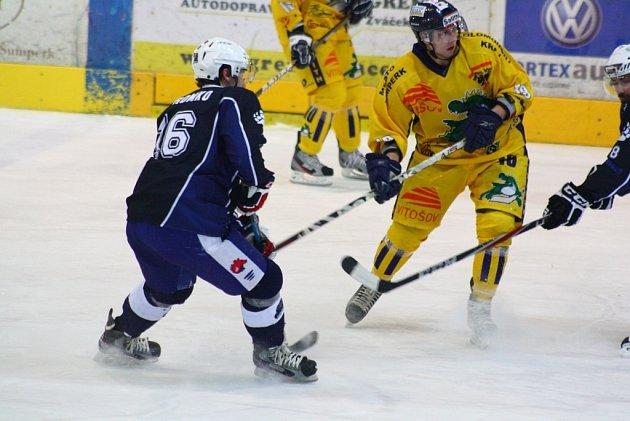 Vladimír Cink během zápasu s Berounem.