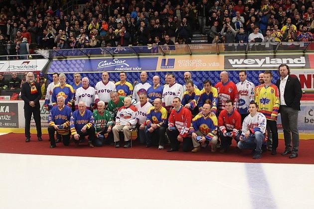 Českobudějovický hokej slaví devadesáté narozeniny, výročí si připomněli ibývalí hráči.