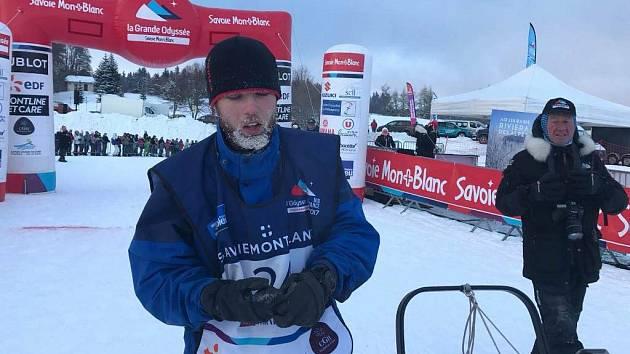 Martin Řehout skončil v mezinárodním závodě psích spřežení na Mont Blanku druhý.