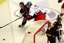 Euro hockey challenge Česká republika - Německo, přátelské přípravné utkání v Budvar Aréně.