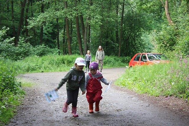Pohádkový les v Rudolfově.