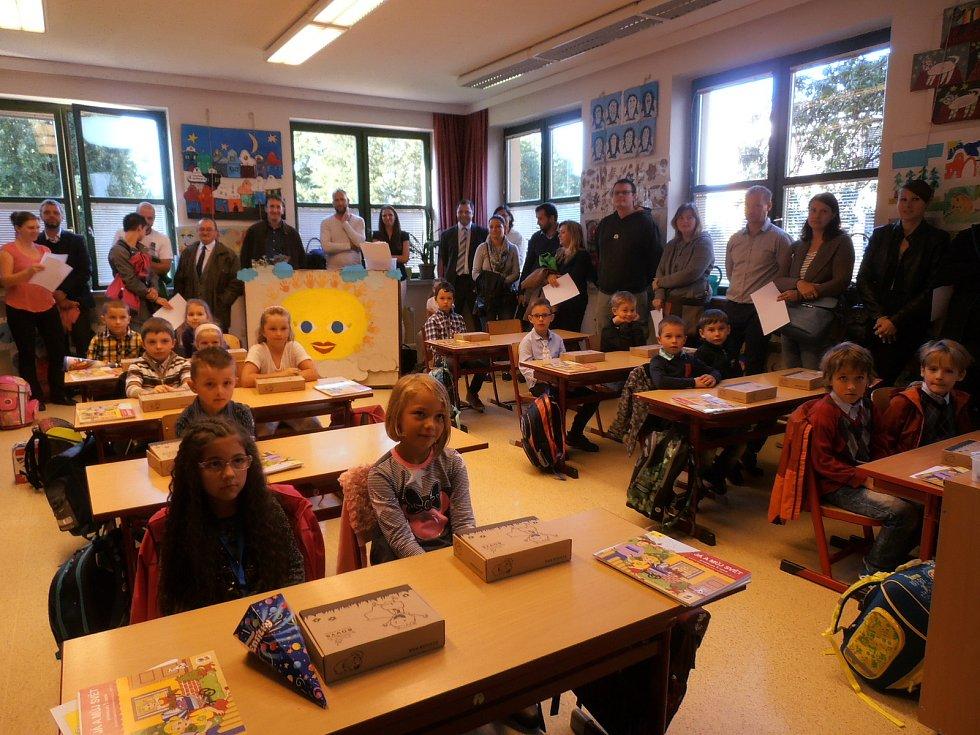 První školní den, ZŠ Borovany