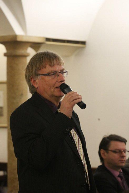 O nedostatku zdravotních sester debatoval s hejtmanem Tomáš Fiala, ředitel Nemocnice Strakonice.