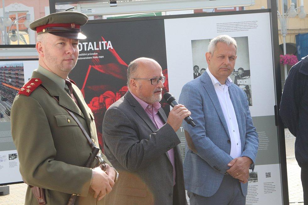 V Českých  Budějovicích začala putovní výstava Totalita: Multimediální průvodce 1948-89.