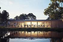 Už příští rok by se Země živitelka měla uskutečnit ve zrekonstruovaném pavilonu Z (na snímku). Návrh pochází z architektonického ateliéru A8000. Celková kapacita by měla být 1200 lidí.