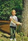 K rybám přivedl Kateřinu Švagrovou její otec. Nyní sama rybářství studuje na Jihočeské univerzitě.