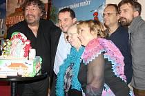 Předpremiéra komedie Babovřesky 3 v Týně nad Vltavou.