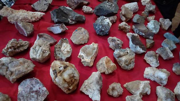 Přátelé kamenů, vzácných i obyčejnějších, se sešli v českobudějovické Gerbeře na mineralogické burze.