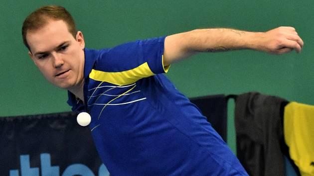 Stolní tenisté nehrají, na restart ligových soutěží musí čekat i lídr druholigové Studené Filip Korbel.