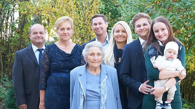 Pět generací najednou!