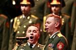 Alexandrovci zpívali 8. prosince v českobudějovické Budvar aréně. Přilákali asi 3000 lidí. Dvojice sólistů pobavila i písní Lady Carneval od Karla Gotta, zpívanou česky s úsměvným ruským přízvukem.