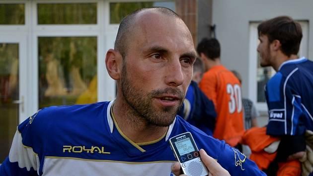 Roman Lengyel po zápase strakonické farmy Dynama s Převýšovem (3:0) odpovídá na dotazy Deníku jižní Čechy.
