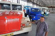 Muzeum užitkových vozidel v Trhových Svinech.