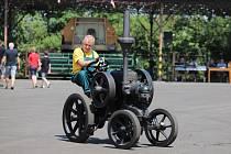 Unikátní stroj Lanz Buldog, traktor starý téměř sto let, ze sbírek Národního zemědělského muzea se představí na Zemi živitelce.