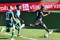 Fortune Bassey sice v úvodu zápasu Dynama s Karvinou z tohoto úniku gól nedal, nakonec ale Dynamo důležitou výhru 3:1 uhráli.
