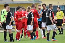 Poslední zápas byl takový, jako celá jarní sezona. Lokomotiva porazila na svém hřišti Čtyři Dvory 7:2 a chystá veselou dokopnou, hostům se jaro nepovedlo. V českobudějovickém derby Loko ČB - SK Čtyři Dvory 7:2.