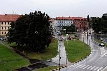 Mariánské náměstí v Českých Budějovicích 3. září.