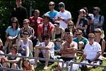 Mistrovství ČR v atletice v Táboře. Diváci podpořili atlety v perném počasí