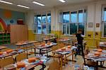 První školní den v ZŠ Dr. M. Tyrše Hrdějovice.