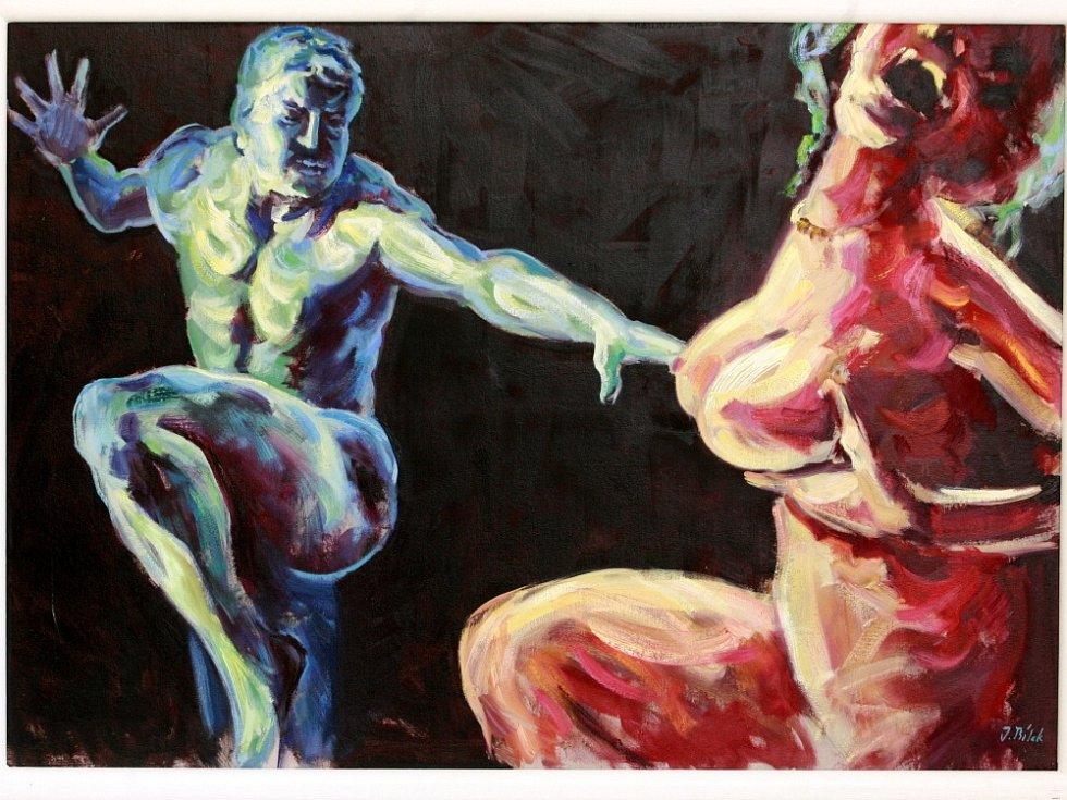 Šéf nové galerie ve Volarech i Asociace jihočeských výtvarníků, Vít V. Pavlík, věří, že současné umění si diváky najde.