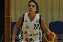 TAHOUN. Na výkony Kateřiny Křížové strakonický basketbalový klub hodně spoléhá. Nyní chce uspět v Karlových Varech a udržet si přízeň fanoušků.