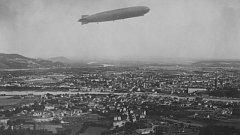 Zeppelin nad Lincem.