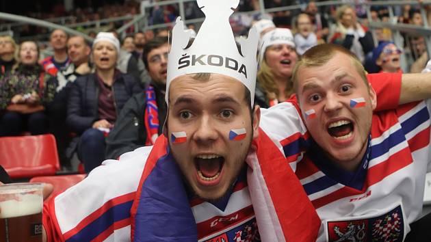 Čeští hokejoví fanoušci