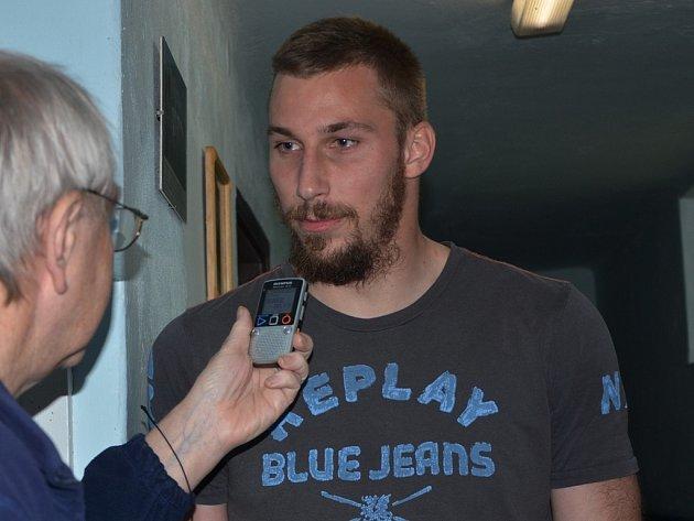 Michal Bárta po zápase strakonické farmy Dynama s Domažlicemi odpovídá na dotazy Deníku jižní Čechy.