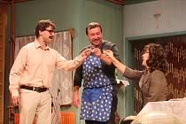 Komedie Bačkorové v Jihočeském divadle