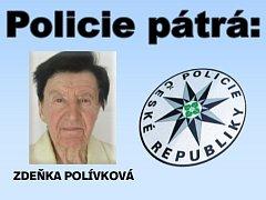 Policisté pátrají po Zdeňce Polívkové.