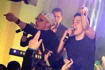 Speedy dub. Tak nazývají svou hudbu Pub Animals, kteří ve středu zahrají na Odpad festu v Českých Budějovicích (zleva zpěváci Štěpán Hebík a Pavel Podruh).