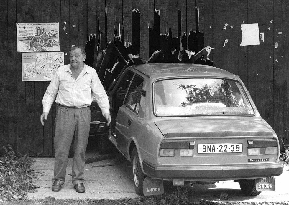 Rudolf Hrušínský Vesničko má středisková.