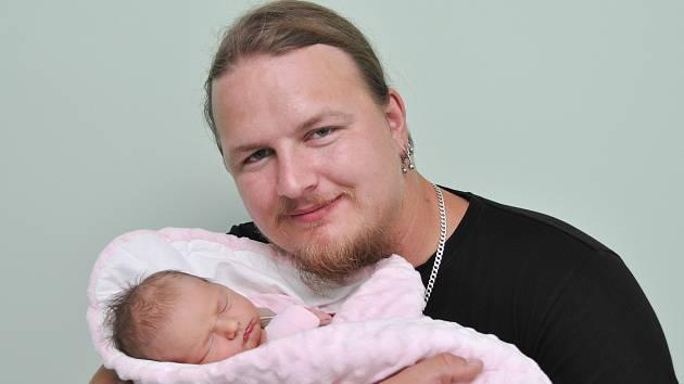 Natálie Mandincová z Blatné. Velkou radost udělalo narození dcery rodičům Petře a Jaroslavovi. Holčička se narodila 14.9. 2021 v 8.10 hodin s porodní váhou 3160 g a doma ji již netrpělivě očekávala sestřička Deniska (7).
