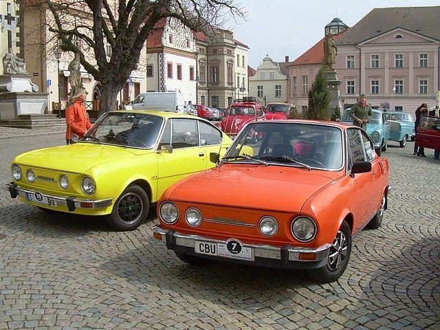 Jednou ze zastávek sobotní jízdy napříč Jihočeským krajem bude Žižkovo náměstí v Táboře.