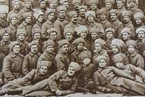 Skupina 11. roty 11. střeleckého pluku Františka Palackého na snímku, který byl pořízen v únoru roku 1919 v Čeljabinsku. František Míšek je na fotografii ve druhé řadě klečících první zleva (označen křížkem).