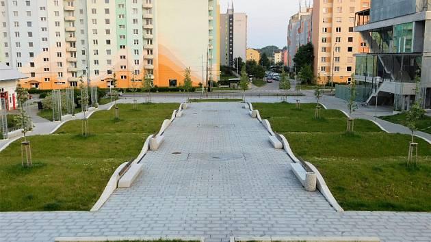 Zelené plochy ve městě