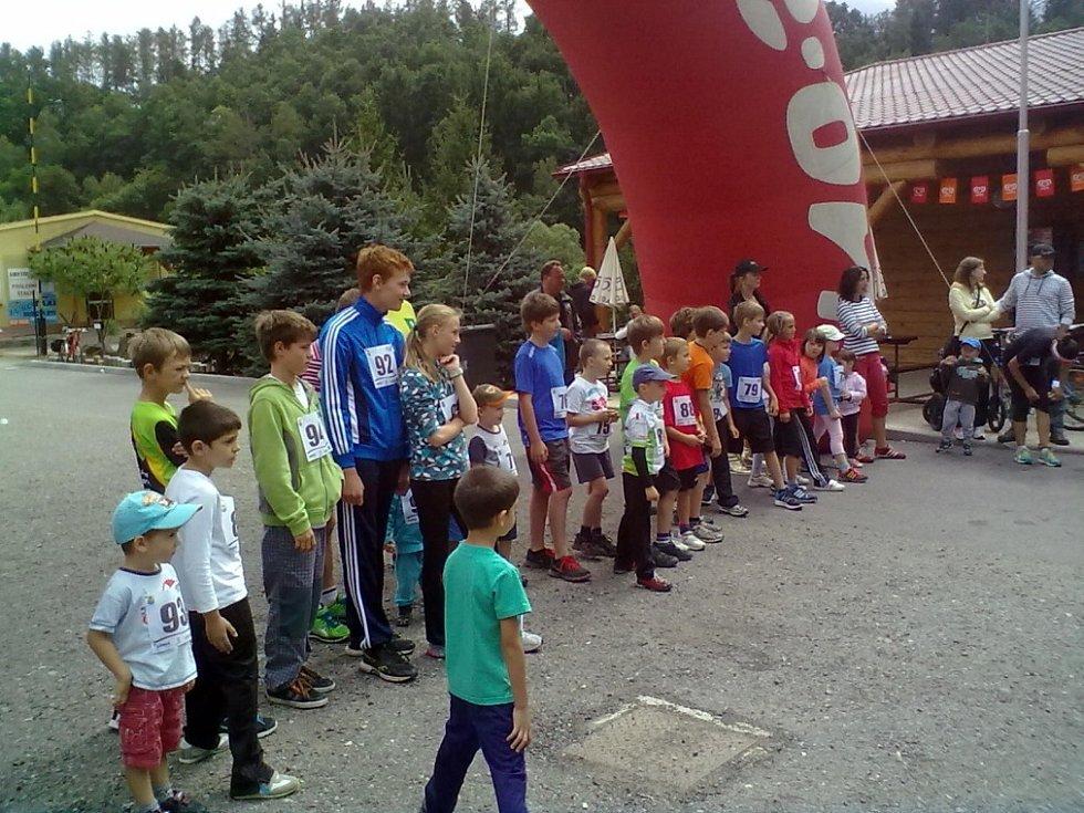 Běh byl pro všechny věkové kategorie. Zúčastnily se i děti.