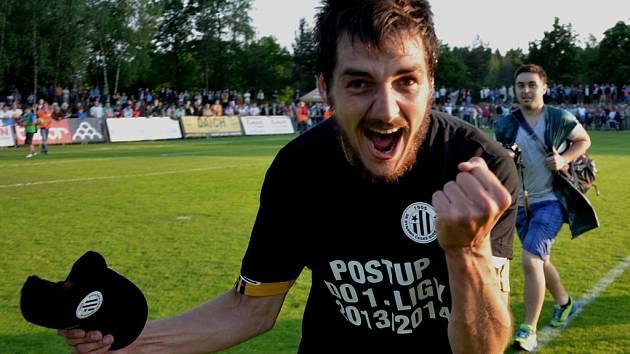 Jaroslav Machovec přispěl k výhře Dynama s Táborskem (6:0) třemi góly.