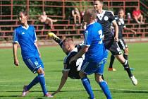 Daniel Černý v zápase Dynama se Znojmem (2:3) z tohoto střeleckého pokusu gól nedal.