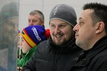 Martin Všetečka (vlevo) zůstává u staršího dorostu Motoru jako asistent Romana Heindla.