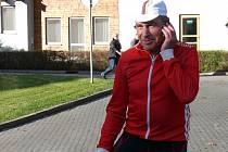 Cyklista Jiří Daler v Třeboni