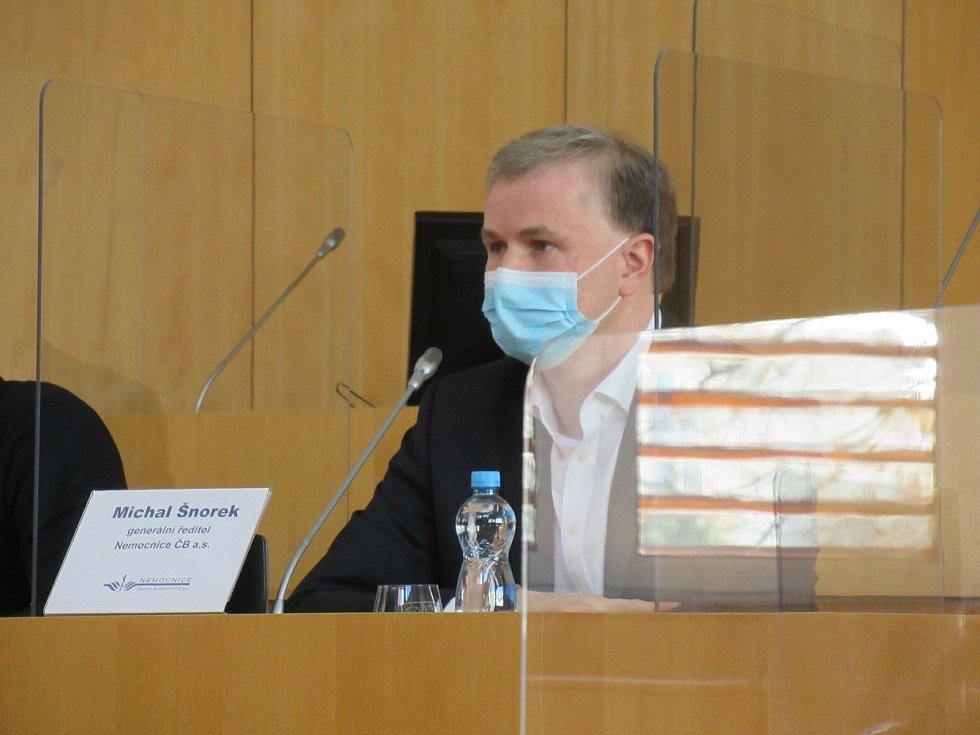 Pro děti chtějí jednoduché neinvazivní testy. Na snímku generální ředitel českobudějovické nemocnice Michal Šnorek