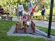 Páté olympijské hry seniorské. Ty se tentokráte konaly v Domově pro seniory v Horní Stropnici.