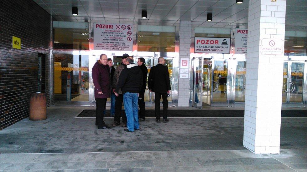 Návštěva prezidenta Miloše Zemana v JE Temelín