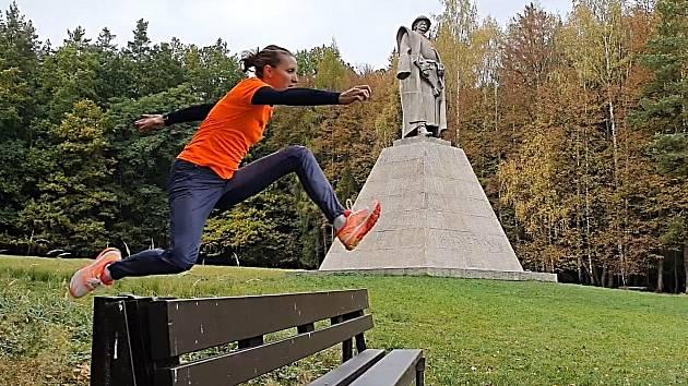Nejlepší česká vytrvalkyně Lucie Sekanová.