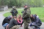 Na Lipensku v těchto dnech končí největší cvičení záložáků v dějinách armády Hradba 2018.