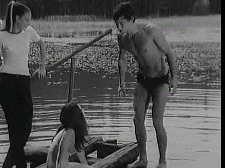 Vyhnanický rybník se objevil vletním romantickém filmu zroku 1970.