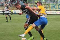 Fotbalový zápas Dynamo-Opava